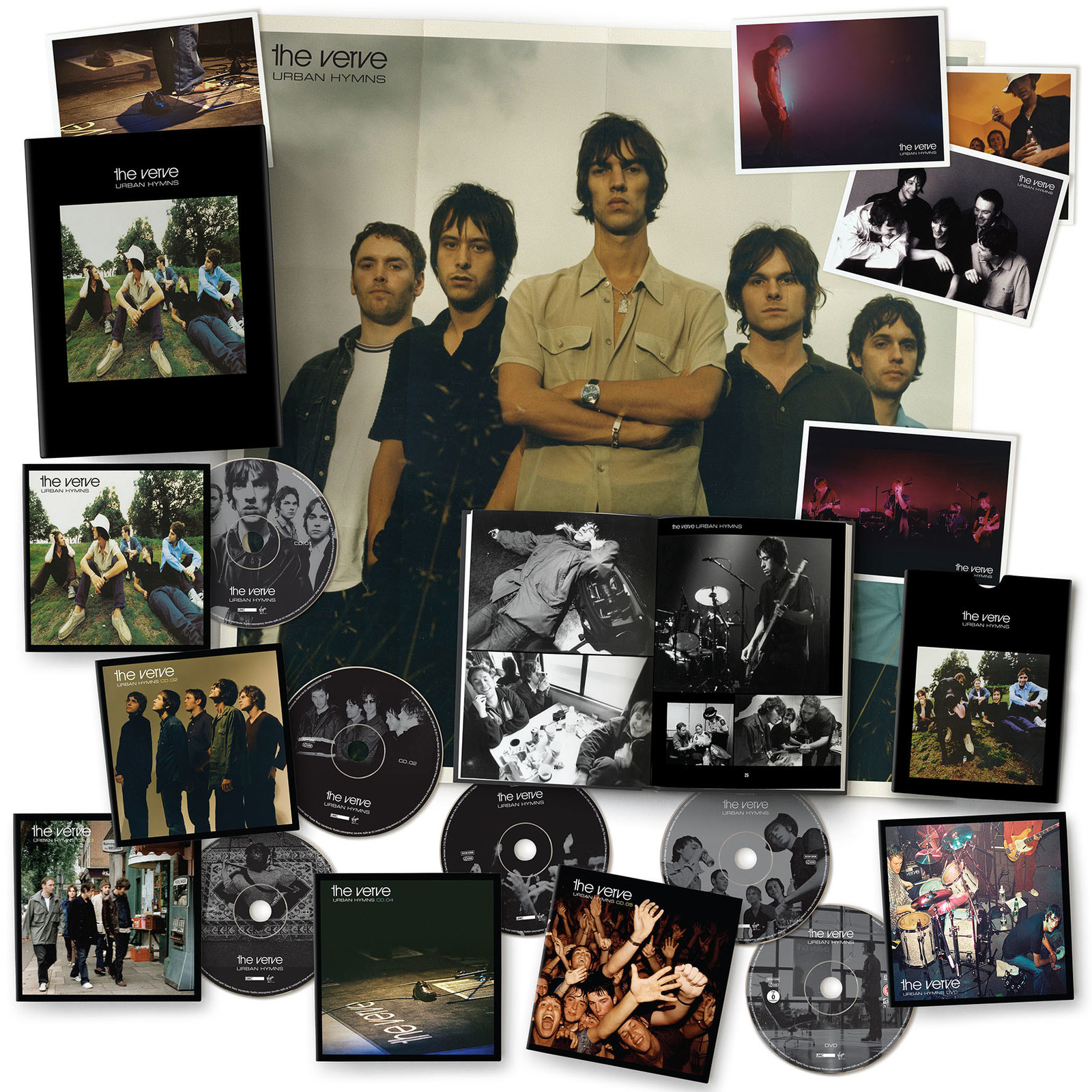 Юбилейный альбом The Verve -Urban Hymns: 20thAnniversary Edition