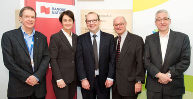 National Bank Donates $2 Million to the Jewish General Hospital Foundation. (CNW Group/National Bank of Canada)