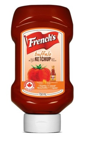 The French's Food Company annonce sa promesse d'offrir des produits au goût exquis faits d'ingrédients authentiques locaux dans un souci de responsabilité sociale ajoutée. L'entreprise lance également son nouveau ketchup French's à la mode de Buffalo et son ketchup French's à l'ail. (Groupe CNW/The French's Food Company)