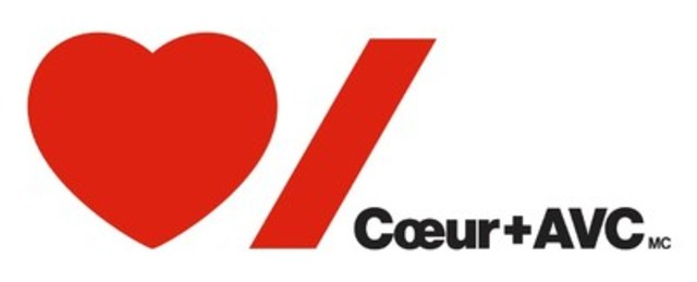 Nouveau logo : Coeur + AVC (Groupe CNW/Fondation des maladies du cœur et de l'AVC)