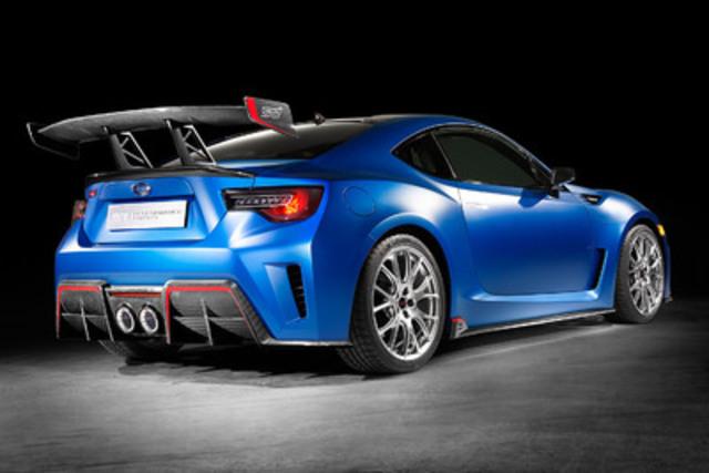 Subaru Unveils STI Performance Concept at 2015 New York Auto Show (CNW Group/Subaru Canada Inc.)