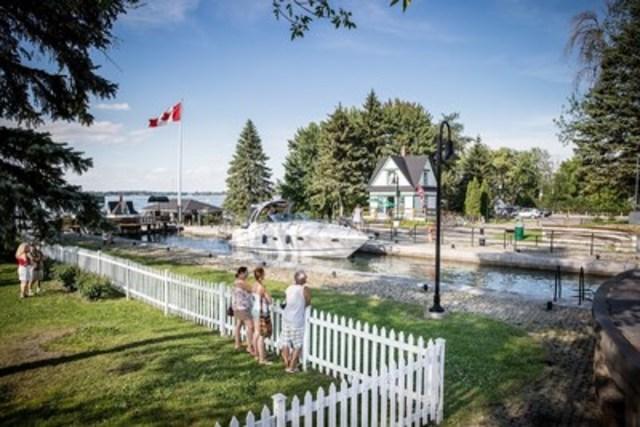Lieu historique national du Canal-de-Chambly (Groupe CNW/Parcs Canada, unité de gestion de Québec)