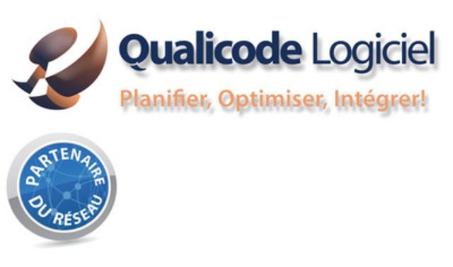 Logo : Qualicode Logiciel Inc. (Groupe CNW/Qualicode Logiciel Inc.)