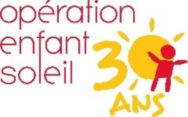 Logo : Opération Enfant Soleil (Groupe CNW/Fondation Air Canada)