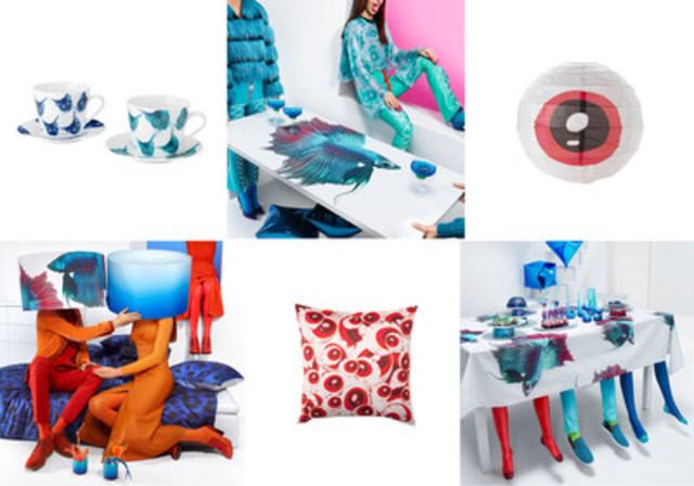 Collection GILTIG, collaboration Katie Eary, la designer de vêtements pour hommes, chez IKEA en avril 2016 (Groupe CNW/IKEA Canada)