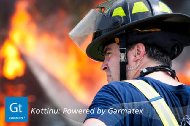 Firefighters wear Kottinu™ for comfort and performance (CNW Group/Garmatex Technologies, Inc)