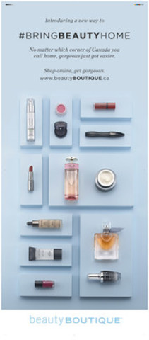 Getting Gorgeous Just Got Easier: Shoppers Drug Mart Announces the Launch of beautyBOUTIQUE.ca (CNW Group/Shoppers Drug Mart Corporation)