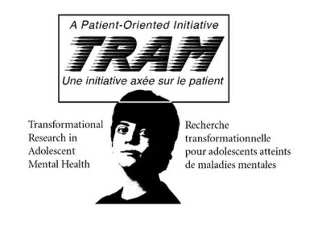 Graham Boeckh Foundation and the Canadian Institutes of Health Research announce Partnership Lead and Selection Panel - Transformational Research in Adolescent Mental Health (TRAM) - A Patient-Oriented Initiative (CNW Group/Transformational Research in Adolescent Mental Health (TRAM))