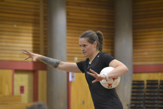 Canadian women's national soccer goaltender Erin McLeod becomes MEC's newest ambassador. (CNW Group/Mountain Equipment Co-op)