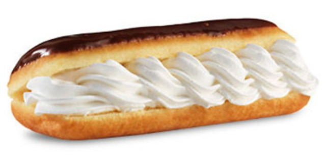 Tim Hortons announces the first menu item for its Bring It Back Campaign: The Eclair. To celebrate its 50th Anniversary, Tim Hortons is asking Canadians to help decide which beloved menu item from the past five decades will make its comeback. Check out TimsBringItBack.ca and join the conversation with #TimsBringItBack. (CNW Group/Tim Hortons)
