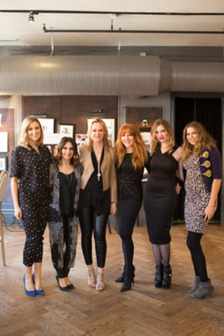 The Faulhaber Team with Charlotte Tilbury at Storys  *From left, Natasha Black, Patricia Amato, Christine Faulhaber, Charlotte Tilbury, Charley Varanelli, Lexi Pathak (CNW Group/Faulhaber Communications)