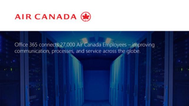 Air Canada (CNW Group/Microsoft Canada Inc.)