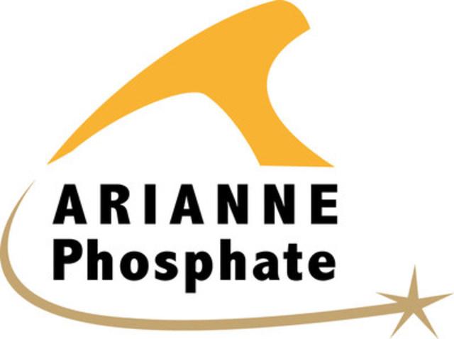 Logo : Arianne Phosphate (Groupe CNW/Arianne Phosphate)