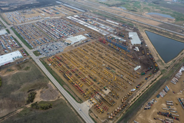 More than 10,200 items sold for CA$240+ million at Ritchie Bros.' largest Canadian auction ever, in Edmonton, AB (April 26 - 30, 2016) (CNW Group/Ritchie Bros. Auctioneers)