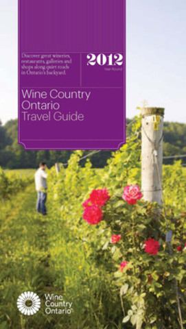 Wine Country Ontario Travel Guide - Cover 2012 (CNW Group/Wine Country Ontario)