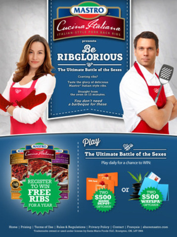 Mastro® presents Be Ribglorious (CNW Group/Blue Band Media)