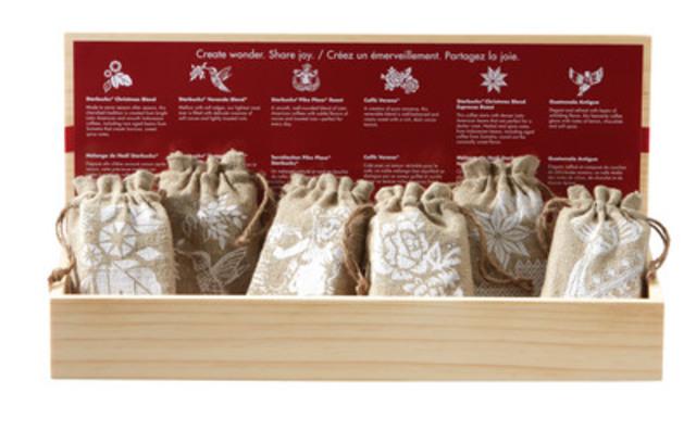 Starbucks® Coffee Sampler Gift Pack (CNW Group/Starbucks Coffee Canada)