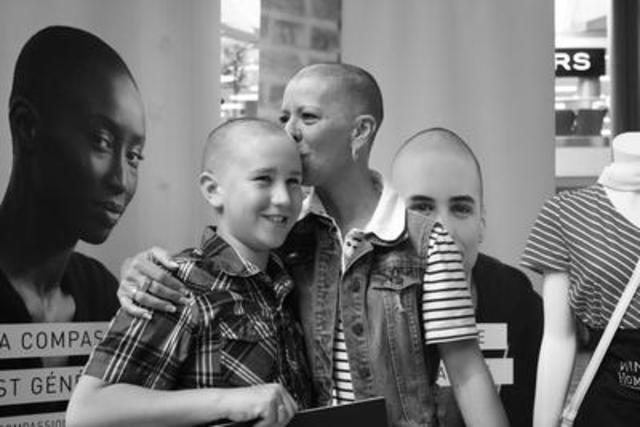 Le Défi têtes rasées Leucan 2016 : un événement toujours aussi rassembleur et fort en émotions (Groupe CNW/Leucan)