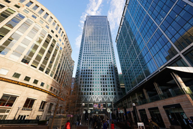 Moody's Analytics London, U.K. office (Canary Wharf) (CNW Group/Canadian Securities Institute (CSI))