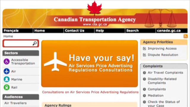 Video: Canadians Having Their Say on Airfare Price Advertising Regulations