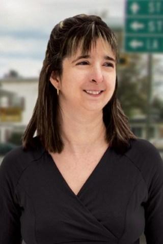 Diane Vincent, candidate de Québec solidaire dans Beauce-Sud (Groupe CNW/Québec solidaire)