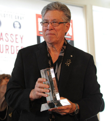 Thomas King - Winner of the RBC Taylor Prize for Literary Non-Fiction, 2014 (CNW Group/RBC Taylor Prize)