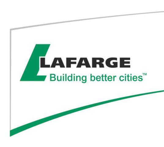 Lafarge Canada Inc. (CNW Group/Lafarge Canada Inc.)