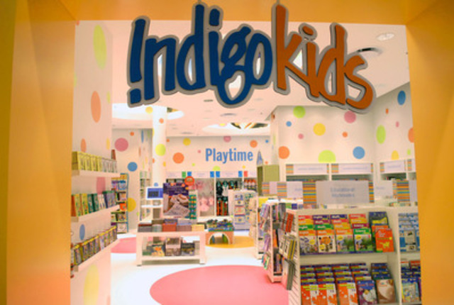 IndigoKids Department, Indigo (CNW Group/Indigo Books & Music Inc.)