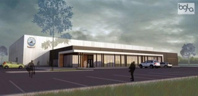 Complexe Sportif de Wendake (Groupe CNW/Conseil de la Nation huronne-wendat)