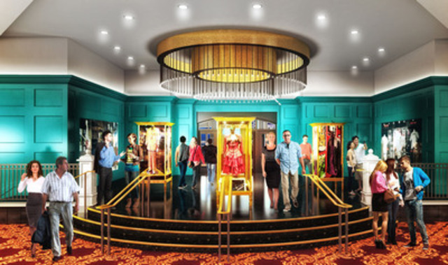 Renderings: Hard Rock Casino Vancouver - Lobby (CNW Group/Great Canadian Gaming Corporation)