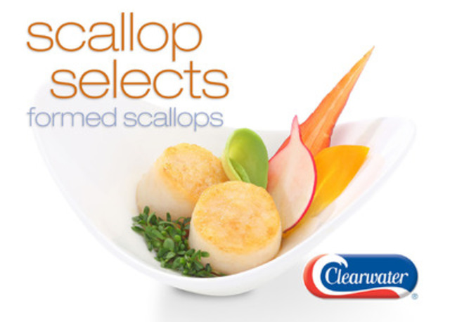 Clearwater introduces Scallop Selects, a value-priced sea scallop alternative for foodservice operators. (CNW Group/Clearwater Seafoods Incorporated)