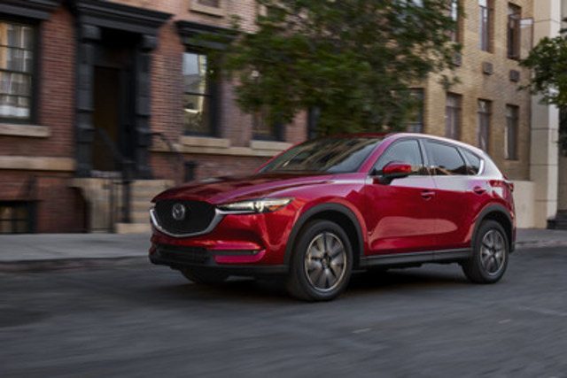 All-new Mazda CX-5 (with North American specifications) (CNW Group/Mazda Canada Inc.)