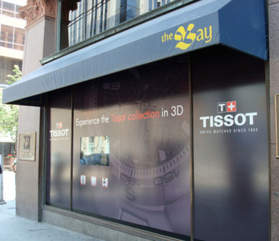 Tech Watch: 21st Century Window Shopping Arrives to Toronto (CNW Group/TISSOT S.A.)