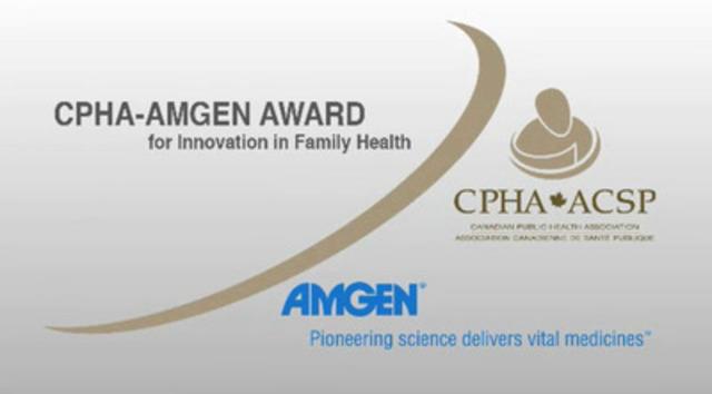 Video: 2012 CPHA-Amgen Award for Innovation in Family Health