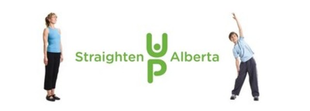 Straighten Up Alberta (CNW Group/Alberta College and Association of Chiropractors)