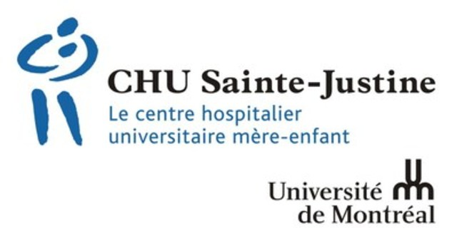 Logo : CHU Sainte-Justine (Groupe CNW/Ça C'est Chiens)