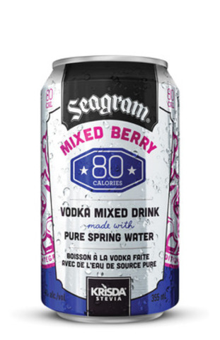 Seagram 80 Mixed Berry (CNW Group/Brick Brewing Co. Limited)