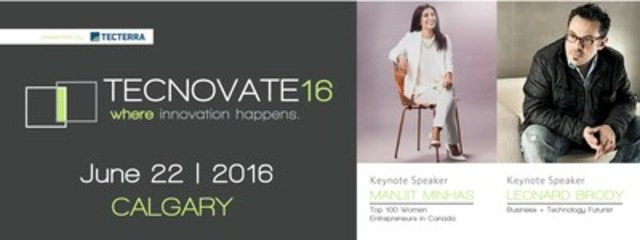 Join us on June 22, 2016 at the Calgary TELUS Convention Centre for a day of innovation, commerce, business ...