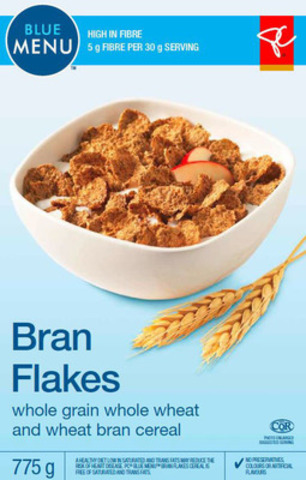 President's Choice® Blue Menu® Bran Flakes 775g (CNW Group/Loblaw Companies Limited)