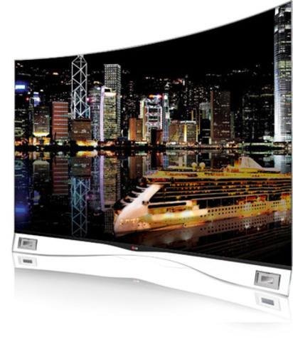 LG's CURVED OLED TV (55EA9800) - The world's first THX Certified Curved OLED TV (CNW Group/LG Electronics Canada, Inc.)