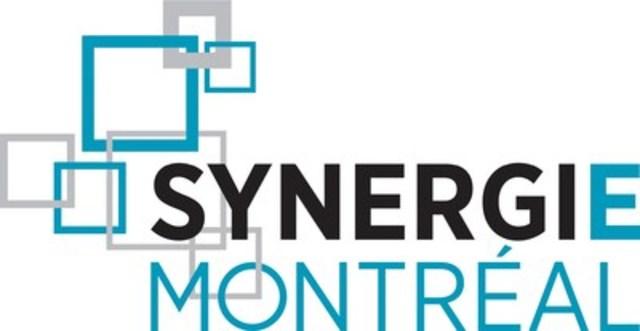 Logo : Synergie-Montréal (Groupe CNW/PME MTL Est-de-l'Île)
