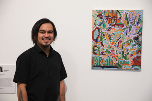 Guelph-based artist Patrick Cruz is the national winner of the 2015 RBC Canadian Painting Competition. (CNW Group/Canadian Art Foundation)