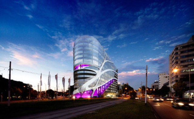 The Caisse de dépôt et placement du Québec invests AU$40.5 million in the Victorian Comprehensive Cancer Centre Project (VCCC) located in Parkville, near Melbourn, Australia. (CNW Group/CAISSE DE DEPOT ET PLACEMENT DU QUEBEC)