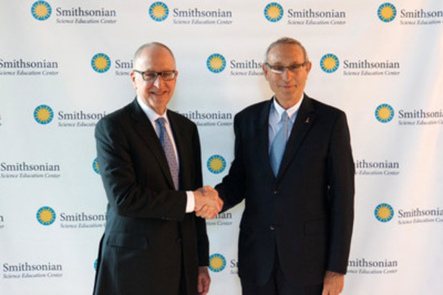 David Skorton, Secretary of the Smithsonian Institution and Menahem Ben-Sasson President, The Hebrew University of Jerusalem (CNW Group/Canadian Friends of the Hebrew University of Jerusalem)