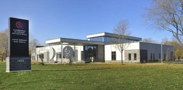 Le nouveau centre funéraire Saint-Charles. (Groupe CNW/Coopérative funéraire des Deux Rives)