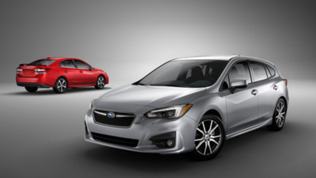 All-new 2017 Subaru Impreza (CNW Group/Subaru Canada Inc.)