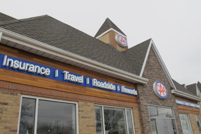 Newly redesigned CAA Burlington Store (CNW Group/CAA South Central Ontario)