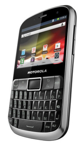 Le Motorola DEFY(MC) PRO est un téléphone élégant à l'épreuve des aléas de la vie, doté de la technologie intelligente Motorola. (Groupe CNW/MOTOROLA MOBILITY CANADA)