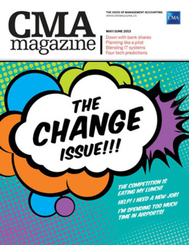 The May/June issue examines change and transition. (CNW Group/CPA Canada)