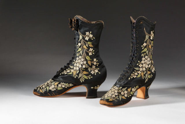 François Pinet, French, late 1870s - early 1880s. Collection of the Bata Shoe Museum. Image (c) Bata Shoe Museum, Toronto, Canada (photo: Ron Wood). (CNW Group/Bata Shoe Museum)